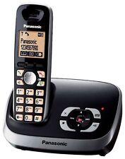 Panasonic KX-TG6521GB Schnurlostelefon mit Anrufbeantworter schwarz D5