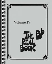 The Real Book Volume Iv B-flat Edition Real Book Fake Book New 000103348