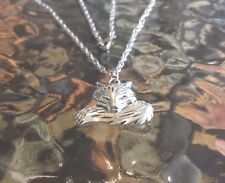 HIGH FASHION 1 NICE SOLID FOX PEWTER NECKLACE All New.