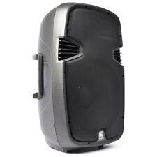 "Skytec Speaker SPJ-1500 PA Mobile DJ Disco Karaoke Powerful Loudspeaker 15"" 600W"