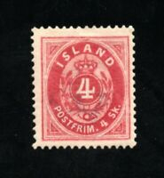 Iceland - Sc# 2 MH (small hinge remnant)   -   Lot 0121199