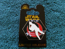 Disney Star Wars* MAY THE 4th FORCE BE WITH YOU - LUKE *New on Card Limited Pin