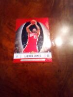 2006-07 Topps finest lebron James cavaliers nm