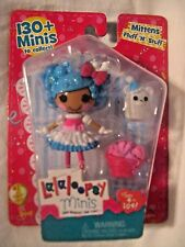 Lalaloopsy Mittens Fluff n Stuff Mini Doll w/ Pet & Basket 2015 NEW *MINT*