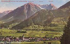 Hindelang AK 1919 panorama Alpi Baviera 1608403