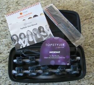 TopStyler by InStyler Heated Ceramic Styling C-Shells NEW in Box