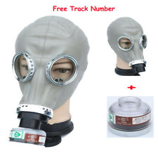 Painting Spray Military soviet Chemical Face gas mask Respirator 40mm W/ filter
