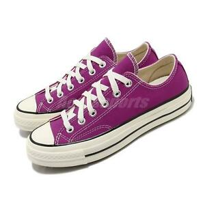 Converse First String Chuck Taylor All Star 70 OX Purple Men Unisex Shoe 168506C