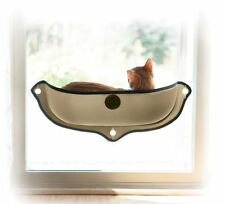 Cozy K&H Cat Kitten Pod Mounted Window Bed Perch Lounger Furniture with Soft Mat
