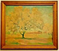 Original Fine Art TUNIS PONSEN Oil Painting Artist Signed and Framed  RARE FIND