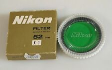 NIKON 52MM X1 FILTER W/CASE, NEW.
