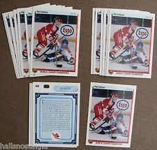 1990/91 Upper Deck Hockey #469 Pat Falloon Rookie (Lot of 18 Cards) NM/MT