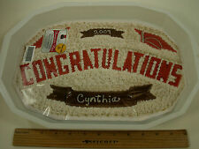 "Pantastic Pan ""Congratulations"" Baking Form- Make Cakes, Jellos at Home! USA!"