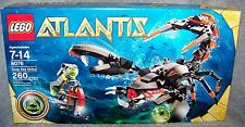 LEGO 2010 ATLANTIS DEEP SEA STRIKER SET #8076 AGES 7-14