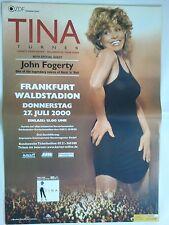 TINA  TURNER  2000   orig.Concert Poster  - Tour Poster   84 x 60 cm  NEUZUSTAND