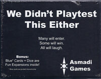 We Didn't Playtest This Either w/ Dice are Fun & Blue Exp Card Game Asmadi Games