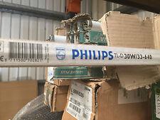 Scatola di 22 PHILIPS AS/D 30w/33-640 Lampada Fluorescente Tubo Lampadina