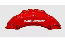 Audi SPORT Brake Caliper High Temp Vinyl Decal Sticker |Audi A3 A4 A5 A6 A8 RS|