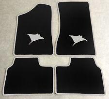 Autoteppich Fußmatten für Opel Manta B und CC  Rochen silbergrau Neuware 4teilig