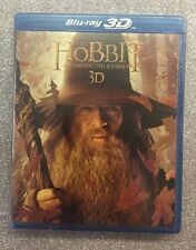 Hobbit: An Unexpected Journey 3D (Blu-ray 3D+Blu-ray+DVD+Digital HD, 2012) NEW