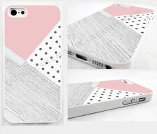 head case,cover for iPhone,iPod>,pink,retro,Polka Dot,wood,geometric design