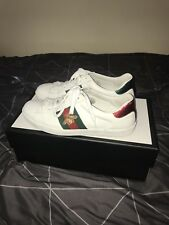 Gucci Ace Shoes Embroidered Bee Men 100% Authentic