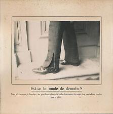 PHOTO PRESSE c. 1910 - Mode Pantalon Londres UK - 161
