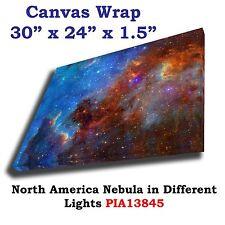 North America Nebula Hubble JPL NASA space telescope Canvas wrap art print