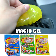 car air vent keyboard cleaner magic glue gel dust sponge tool auto mud remover