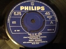 HARRY SECOMBE . THIS IS MY SONG From film A Countess from Hong Kong . NR MINT .