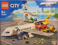 LEGO 60262 Airport Flughafen Passagier-Flugzeug Terminal Cabrio Lastwagen NEU