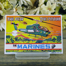 Ande Rooney / Enamel Kitchen Magnet / The Few / The Proud / The Marines / Cobra