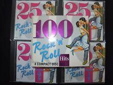 COFFRET 4 CD 100 HITS ROCK N ROLL /