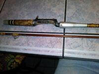 Vintage 6 ft. Heddon Pal Mark IV -6905 Power Plus Action Fishing Rod