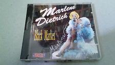"""MARLENE DIETRICH """"BLACK MARKET"""" CD 18 TRACKS PRECINTADO"""