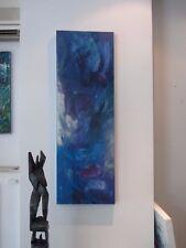 120x40 cm olio/LW Sonja ZELTNER-Müller ASTRATTO BLU valore Düsseldorf kunstmüllerei