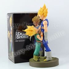 2pcs DragonBall Z Dragon Ball Majin Vegeta hugs Trunks 20cm/12cm PVC Figure WB