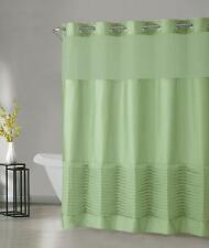 NEW Hookless  Opera Tucks Shower Curtain with Peva Liner, Sage