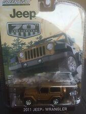 Greenlight Anniversary Collection  2011 Jeep Wrangler.    Bronze