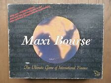 Rare 1987 Maxi Bourse finance board game Bour$e
