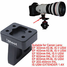 Lens Support Collar Tripod Mount Ring Base for Canon EF 600mm f/4L IS II USM