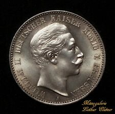 2 Mark Preussen Wilhelm 1888  Jg 100   Kabinettstück   KP 4