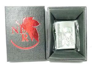 Evangelion Asuka Langley Amusement Oil Lighter Unfired Rare             180205G6
