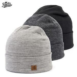 Smith & Miller Premium Winter Mütze Tokko Beanie Merino Wollmütze Strickmütze