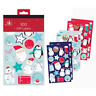 Tallon 2930 - Self Adhesive Foil Xmas Gift Labels, Cute Designs - Pack of 100