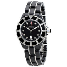 Bulova Accutron Mirador Black Mother of Pearl Dial Ladies Watch 65R132