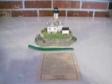 1998 Harbour Lights Collectors Reunion #614 Rose Island, Rhode Island-Signed
