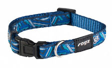 Rogz Side Release Collar Navy Zen Dog Collar size Small Medium Large XL