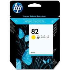 HP Tintenpatrone 82 Yellow DesignJet C4913A