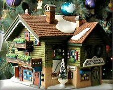 Dept 56 Alpine Village ~ Sport Laden ~ Mint In Box 56120